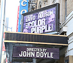 'The Color Purple' - Theatre Marquee