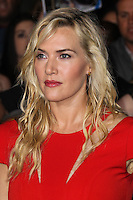 "WESTWOOD, LOS ANGELES, CA, USA - MARCH 18: Kate Winslet at the World Premiere Of Summit Entertainment's ""Divergent"" held at the Regency Bruin Theatre on March 18, 2014 in Westwood, Los Angeles, California, United States. (Photo by Xavier Collin/Celebrity Monitor)"