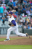Winston-Salem Dash starting pitcher Matt Heidenreich (32) delivers a pitch to the plate against the Lynchburg Hillcats at BB&T Ballpark on May 29, 2015 in Winston-Salem, North Carolina.  The Dash defeated the Hillcats 8-1.  (Brian Westerholt/Four Seam Images)