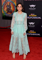 Chloe Bennett at the premiere for &quot;Thor: Ragnarok&quot; at the El Capitan Theatre, Los Angeles, USA 10 October  2017<br /> Picture: Paul Smith/Featureflash/SilverHub 0208 004 5359 sales@silverhubmedia.com