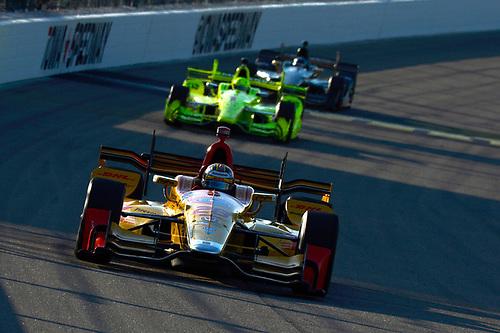 Verizon IndyCar Series<br /> Iowa Corn 300<br /> Iowa Speedway, Newton, IA USA<br /> Saturday 8 July 2017<br /> Ryan Hunter-Reay, Andretti Autosport Honda<br /> World Copyright: F. Peirce Williams<br /> LAT Images