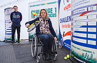 Rotterdam, Netherlands, 10 februari, 2018, Ahoy, Tennis, ABNAMROWTT, KNLTB challenge by the Markthal with Esther Vergeer <br /> Photo: Henk Koster/tennisimages.com