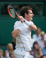 ANDY MURRAY (GBR)<br /> <br /> TENNIS - THE CHAMPIONSHIPS - WIMBLEDON 2015 -  LONDON - ENGLAND - UNITED KINGDOM - ATP, WTA, ITF <br /> <br /> &copy; AMN IMAGES