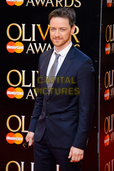LONDON, ENGLAND - APRIL 13: James McAvoy attends the Olivier Awards 2014 at the Royal Opera House on April 13, 2014 in London, England. <br /> CAP/CJ<br /> &copy;Chris Joseph/Capital Pictures