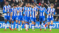 Wigan Athletic players celebrate the second goal scored by Nick Powell off Emerson Hyndman of AFC Bournemouth during AFC Bournemouth vs Wigan Athletic, Emirates FA Cup Football at the Vitality Stadium on 6th January 2018