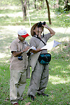 Chandan & Quint Working in the Field