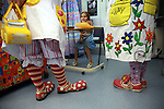 F has the chance of being visited by Dr Looloo and Dr Hunny during her lunch. Oncology ward of the Royal Manchester Children hospital.