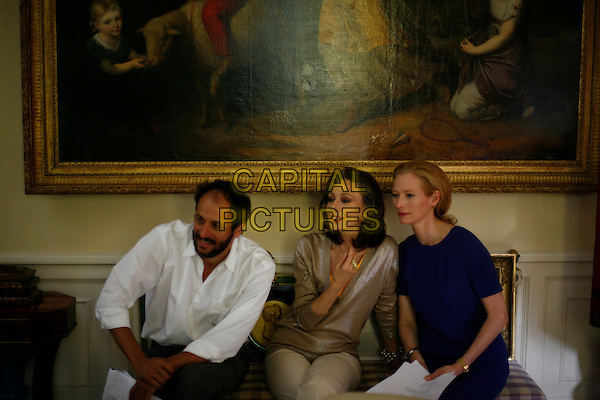 LUCA GUADAGNINO (DIRECTOR), MARISA BERENSON & TILDA SWINTON.in Io sono l'amore .(I Am Love).*Filmstill - Editorial Use Only*.CAP/FB.Supplied by Capital Pictures.