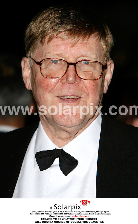 ALL ROUND PICTURES BY SOLARPIX.COM. .Alan Bennett arrives for the premiere of The History Boys at the Odeon in Leicester Square, London.  JOB REF:2867 - PRS..MUST CREDIT SOLARPIX.COM OR DOUBLE FEE WILL BE CHARGED.....