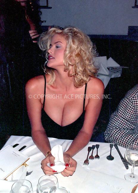 WWW.ACEPIXS.COM *** NO U.K. NEWSPAPERS SALES ***....Donald Trump and Anna Nicole, circa 1992.....Please byline: R. BOCKLET-ACEPIXS.COM  ..  ***  ..Ace Pictures, Inc:  ..Tel: (646) 769 0430..e-mail: info@acepixs.com..web: http://www.acepixs.com