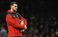 Wales coach Sam Warbinton during the pre match warm up<br /> <br /> Photographer Ian Cook/CameraSport<br /> <br /> 2019 Autumn Internationals - Wales v Barbarians - Saturday 30th November 2019 - Principality Stadium - Cardifff<br /> <br /> World Copyright © 2019 CameraSport. All rights reserved. 43 Linden Ave. Countesthorpe. Leicester. England. LE8 5PG - Tel: +44 (0) 116 277 4147 - admin@camerasport.com - www.camerasport.com