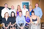 SOCIALITES: Having fun at Kerins O'Rahillys GAA club annual social last Friday night in the Ballyroe Heights Hotel were seated l-r: Teresa O'Sullivan, Rebecca Ryan, Martin Nix, Melissa Ryan and Sharon Walsh. Back l-r: Ray Walsh, Mark O'Sullivan, Ann Hennessy, Bernie Keane, Eileen Keane and Shane Ronan.