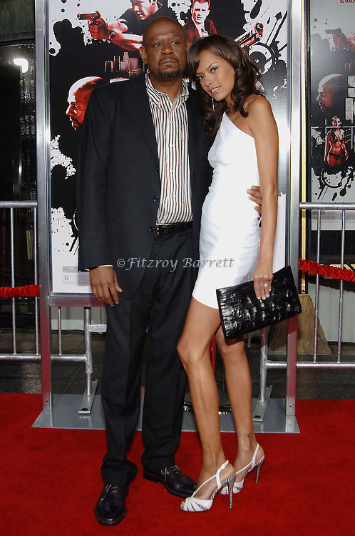 Forest Whitaker and wife Keisha arriving to the premiere of Street Kings Held at Grauman's Chinese Theater Hollywood, Ca. April 3, 2008. ©Fitzroy Barrett