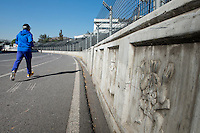 Re-building and renovating the Hermanos Rodriguez F1 track in Mexico City.