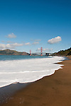 Baker Beach, Golden Gate Bridge, San Francisco, California, USA.  Photo copyright Lee Foster.  Photo # california108275