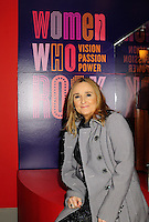 Melissa Etheridge poses for a photo in front Etheridges' jacket she wore to the 2005 Grammy Award show. The jacket is part of the &quot;Women Who Rock&quot; exhibition sponsored by the Rock and Roll Hall of Fame and the RIAA (Recording Industry Association of America) at NMWA in Washington DC. Sunday Nov. 4th. Grammy award winner Melissa Etheridge is presented with The Excellence in the Performing Arts award from the National Museum of Women in the Arts (NMWA) in Washington DC. Sunday Nov. 4, 2012. Etheridge  also performed on the piano and then an acoustic set on guitar for an intimate audience of about 400 people. Photo &copy;Suzi Altman/For NMWA Grammy award winner Melissa Etheridge is presented with the National Museum of Women in the Arts&rsquo; (NMWA) Award for Excellence in the Performing Arts in Washington DC. Sunday Nov. 4, 2012. Etheridge also performed on the piano and then an acoustic set on guitar for an intimate audience of about 300 people. Photo &copy;Suzi Altman/For NMWA<br /> <br /> Melissa Etheridge NMWA Award for Excellence in the Performing Arts