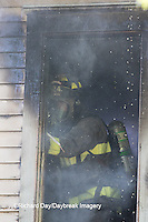 63818-02411 Firefighter at structure fire, Effingham Co., IL