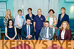 Pictured at the official opening of the new Pigmented Lesion Clinic at University Hospital Kerry, on Saturday last were front l-r: Dr. Sally O'Shea (Consultant Dermatologist), Minister Brendan Griffin, Dr. John Bourke (Consultant Dermatologist) and Betty Murphy (Operations Manager). Back l-r: Breda O'Riordan (Business Manager in the group), Sheila McGillycuddy (Outpatient Nurse Manager), Mairead O'Sullivan (Bed Manager UHK), Marie O'Connor (PLC Clinic Nurse), Catherine Duffy (National Cancer Control Programme) and Olivia O'Rahilly (Assistant Director of Nursing).