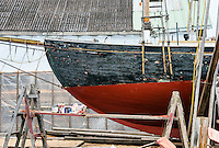 Boat building and repair, Vineyard Haven, Martha's Vineyard, Massachusetts, USA