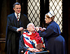 Forty Years On <br /> by Alan Bennett <br /> at Festival Theatre Chichester , Great Britain <br /> press photocall <br /> 25th April 2017 <br /> <br /> Richard Wilson as Headmaster <br /> <br /> Alan Cox as Franklin <br /> <br /> <br /> <br /> Jenny Galloway as Matron <br /> <br /> <br /> <br /> <br /> Photograph by Elliott Franks <br /> Image licensed to Elliott Franks Photography Services