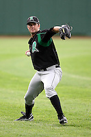 June 13th 2008:  Pitcher Tyler Rhoden of the Dayton Dragons, Class-A affiliate of the Cincinnati Reds, during a game at Stanley Coveleski Regional Stadium in South Bend, IN.  Photo by:  Mike Janes/Four Seam Images