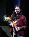 Bel Powley during the the Broadway Opening Night Performance curtain call for 'Lobby Hero' at The Hayes Theatre on March 26, 2018 in New York City.