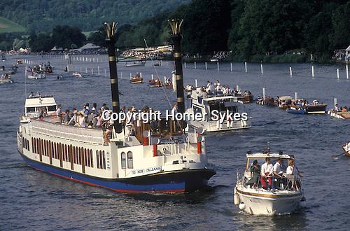 Henley Royal Regatta, Henley on Thames, Oxfordshire, England.