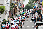 The peloton give chase during Stage 2 of the Route d'Occitanie 2019, running 187.7km from Labruguière to Martres-Tolosane, France. 21st June 2019<br /> Picture: Colin Flockton | Cyclefile<br /> All photos usage must carry mandatory copyright credit (© Cyclefile | Colin Flockton)