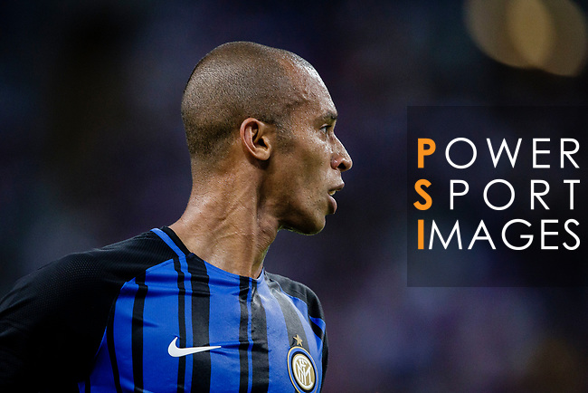 FC Internazionale Defender Joao Miranda in action during the International Champions Cup 2017 match between FC Internazionale and Chelsea FC on July 29, 2017 in Singapore. Photo by Marcio Rodrigo Machado / Power Sport Images