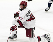 Lewis Zerter-Gossage (Harvard - 77) - The Harvard University Crimson tied the visiting Yale University Bulldogs 1-1 on Saturday, January 21, 2017, at the Bright-Landry Hockey Center in Boston, Massachusetts.