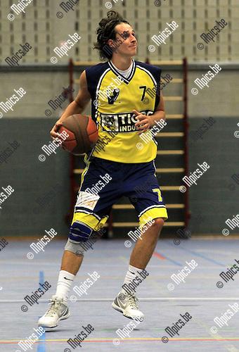 2010-08-15 / Basketbal / seizoen 2010-2011 / BBC Geel /  Zeno Thoelen..Foto: mpics