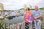Cahersiveen Marina, a beautiful location to tie up your boat and explore the town of Cahersiveen, pictured here l-r; Eileen O'Shea(Marina Office Administrator) & Kieran McCarthy(Fas Supervisor).