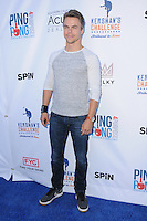 11 August 2016 - Los Angeles, California. Derek Hough. Clayton Kershaw's 4th Annual Ping Pong 4 Purpose Celebrity Tournament held at Dodger Stadium. Photo Credit: Birdie Thompson/AdMedia