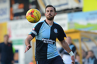 Wycombe Wanderers captain Paul Hayes during the Sky Bet League 2 match between Mansfield Town and Wycombe Wanderers at the One Call Stadium, Mansfield, England on 31 October 2015. Photo by Garry Griffiths.
