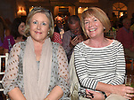 Veronica Flannery and Margaret Ryan pictured at the Johnstons Folk Music Festival in the Conyngham Arms hotel Slane. Photo:Colin Bell/pressphotos.ie