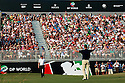 KAYMER Martin (GER) holes his final putt and wins the Race to Dubai Order of Merit during the final round of the Dubai World Championship presented by DP World, played over the Earth Course, Jumeira Golf Estates on 28th November 2010 in Dubai, UAE......