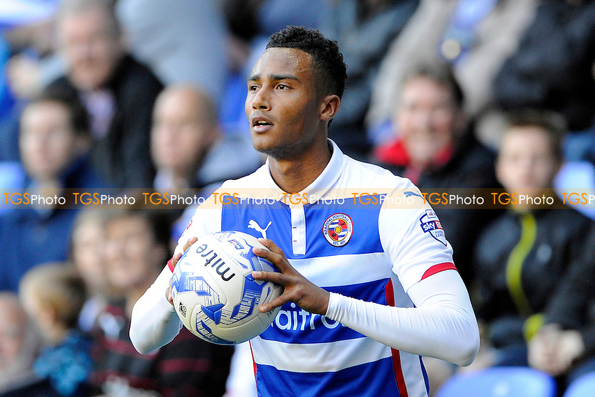 Jordan Obita of Reading - Reading vs Blackpool - Sky Bet Championship Football at the Madejski Stadium, Reading, Berkshire - 25/10/14 - MANDATORY CREDIT: Denis Murphy/TGSPHOTO - Self billing applies where appropriate - contact@tgsphoto.co.uk - NO UNPAID USE