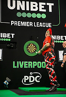 12th March 2020; M and S Bank Arena, Liverpool, Merseyside, England; Professional Darts Corporation, Unibet Premier League Liverpool; Peter Wright during his night six match against Michael Smith