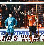 Jon Daly celebrates after scoring goal no 2