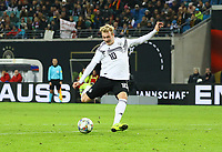 Julian Brandt (Deutschland Germany) - 15.11.2018: Deutschland vs. Russland, Red Bull Arena Leipzig, Freundschaftsspiel DISCLAIMER: DFB regulations prohibit any use of photographs as image sequences and/or quasi-video.