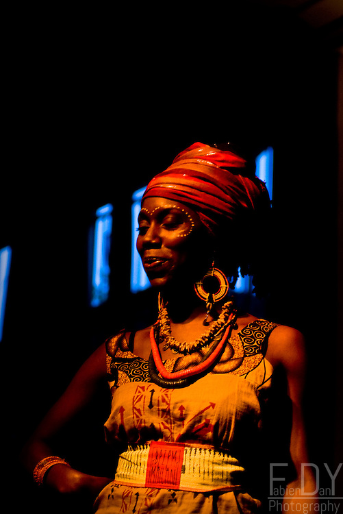 Fashion show hrld by T.Urban style in la Belleviloise, for the global reggae culture event #2.