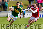 Marc Ó Sé   Kerry in action against Luke Connolly Cork in the National Football league in Austin Stack Park, Tralee on Sunday.