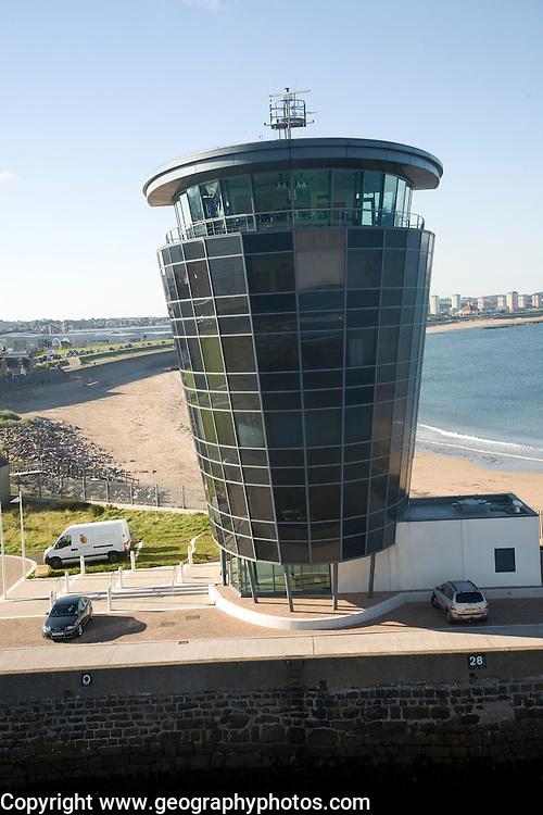 Marine Operations Centre building, Aberdeen harbour, Scotland