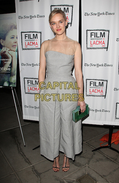 Los Angeles, CA - March 3: Jess Weixler Attending 'The Face of Love' Premiere Screening, Held at LACMA California on March 3, 2014 <br /> CAP/MPI/MPIUPA<br /> &copy;MPIUPA/MediaPunch/Capital Pictures
