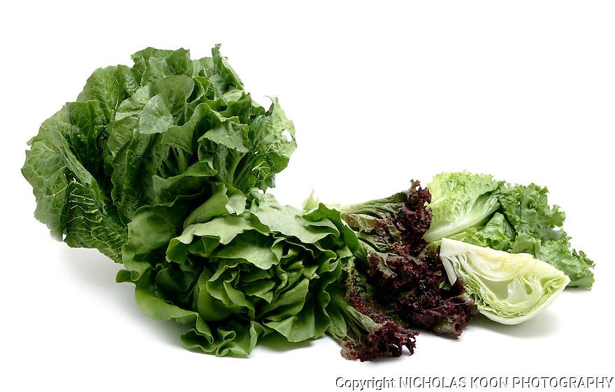 Lettuce still life.
