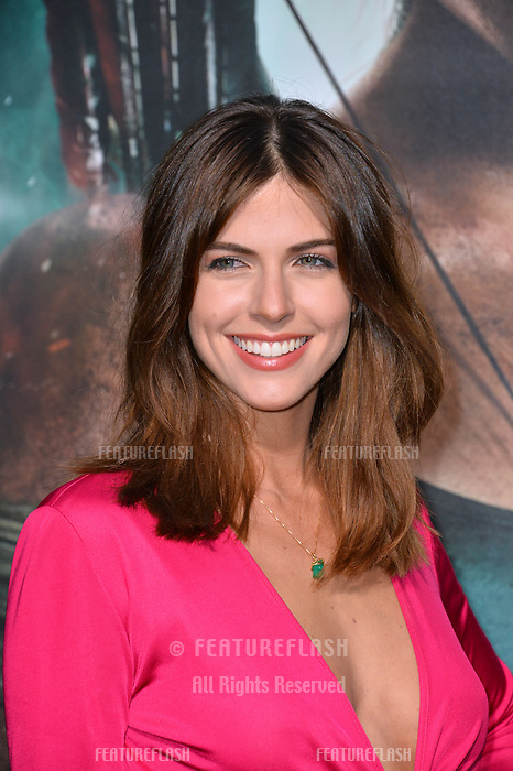 Stephanie Cayo at the US premiere for &quot;Tomb Raider&quot; at the TCL Chinese Theatre, Los Angeles, USA 12 March 2018<br /> Picture: Paul Smith/Featureflash/SilverHub 0208 004 5359 sales@silverhubmedia.com