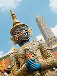 Grand Palace-Statue of Beastial Guardian, Bangkok