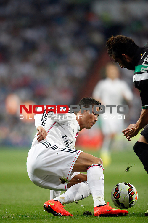 Cristiano Ronaldo of Real Madrid during La Liga match between Real Madrid and Cordoba at Santiago Bernabeu stadium in Madrid, Spain. August 25, 2014. Foto © nph / Caro Marin)