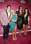 Vanderpump Rules' Tom Sandoval,Ariana Madix,Katie Maloney,Scheana Shay, Attend the OK! Magazine's Annual 'SO SEXY' event in New York, toasting the City's sexiest celebrities of 2015 and NY's most-glamorous at HAUS Nightclub.