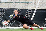 17 May 2011: Jill Loyden. The United States Women's National Team held a training session at WakeMed Stadium in Cary, North Carolina as part of their preparations for the 2011 Women's World Cup.